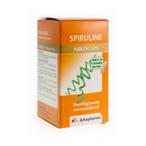Arkocaps Spiruline Plantaardig  45 Capsules