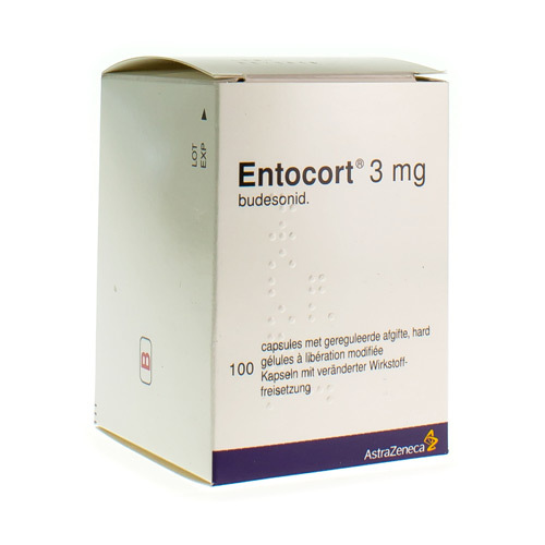 Entocort 3 Mg (100 Gelules)