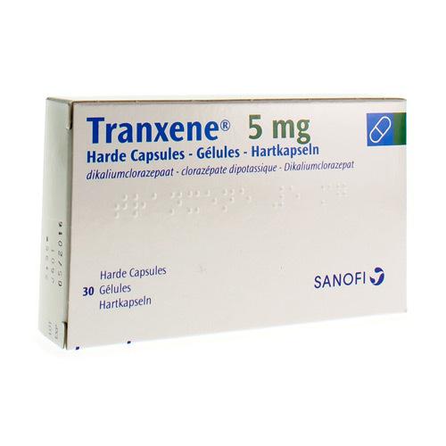 Tranxene 5 Mg (30 Gelules)