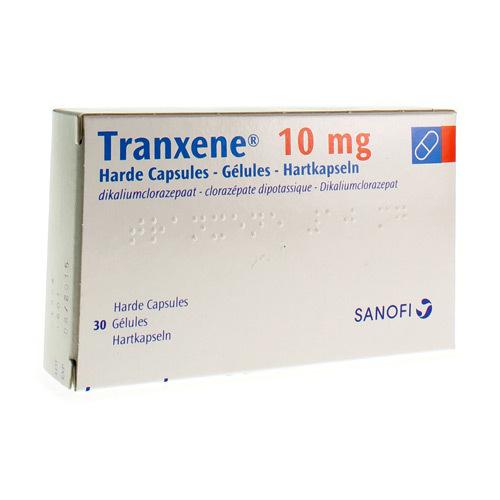 Tranxene 10 Mg (30 Gelules)