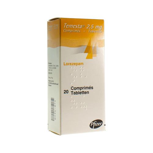 Temesta 2,5 Mg (20 Tabletten)