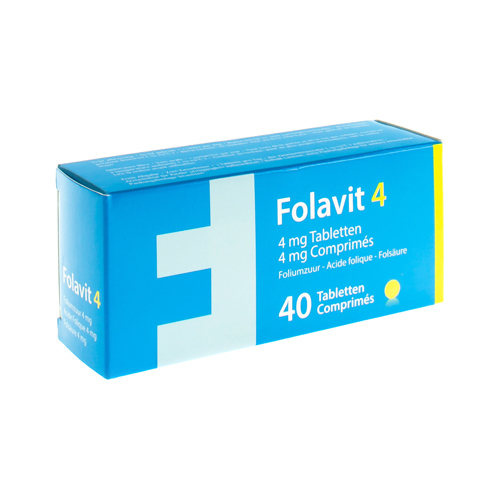 Folavit 4 Mg (40 Comprimes)