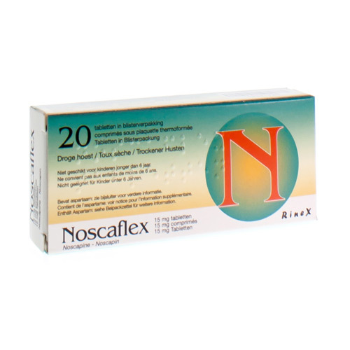 Noscaflex 15 Mg (20 Comprimes)