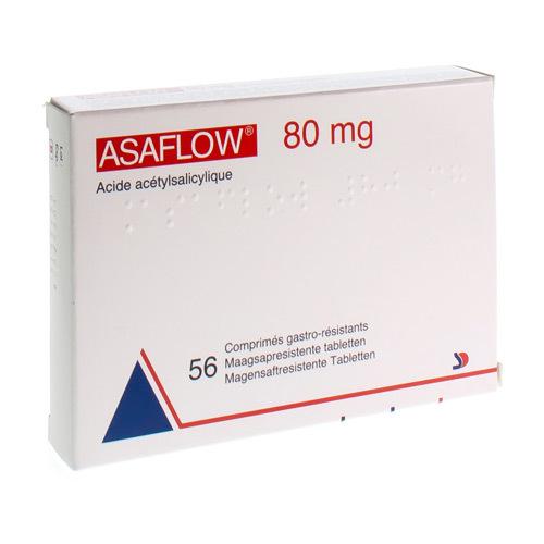 Asaflow 80 Mg  56 Comprimes