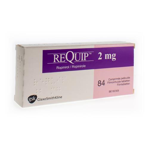 Requip 2 Mg (84 Tabletten)