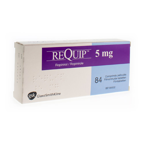 Requip 5 Mg (84 Tabletten)
