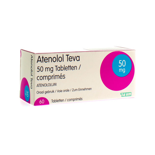 Atenolol Teva 50 Mg (60 Tabletten)