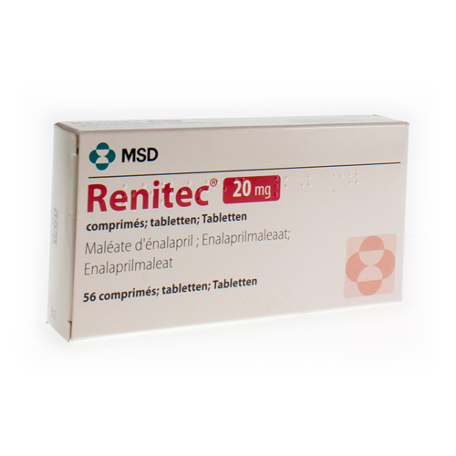 Renitec 20 Mg (56 Tabletten)