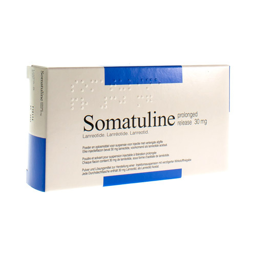Somatuline Prolonged Release 30 Mg (1 Flacon)