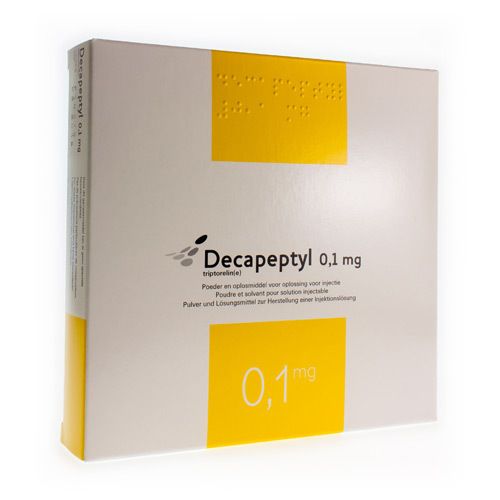 Decapeptyl 0,1 Mg  7 Ampoules