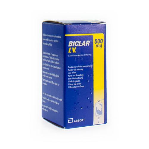 Biclar I.V. 500 Mg  1 Flacon