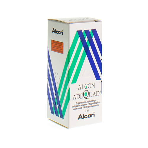 Adequad Gouttes Oculaires 3 Mg/Ml / 1 Mg/Ml  10 Ml