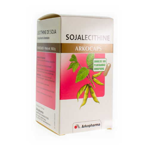 Arkocaps Sojalecithine Plantaardig  150 Capsules