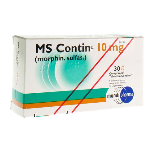Ms Contin 10 Mg (30 Comprimes)
