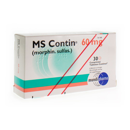 Ms Contin 60 Mg (30 Tabletten)