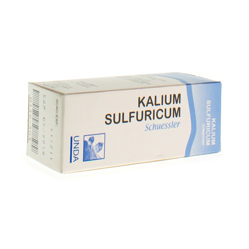 Schuessler Sel N7 Kalium Sulfur
