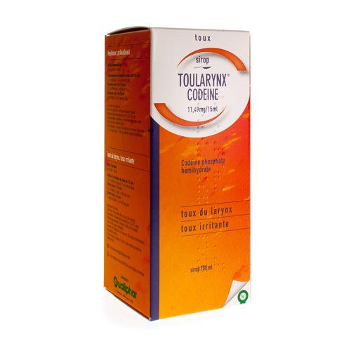 Toularynx Codeine 11,49 Mg/15 Ml (180 Ml)