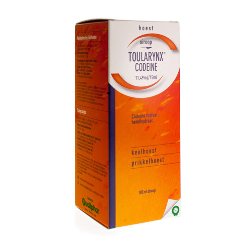 Toularynx Codeine 11,49 Mg/15 Ml (180 Ml)