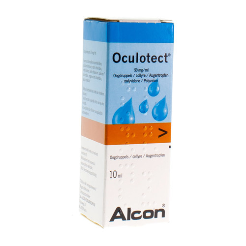Oculotect Oogdruppels 50 Mg/Ml (10 Ml)