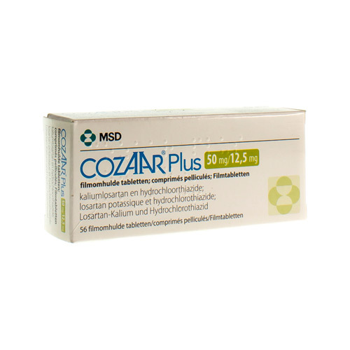Cozaar Plus 50 Mg / 12,5 Mg (56 Tabletten)