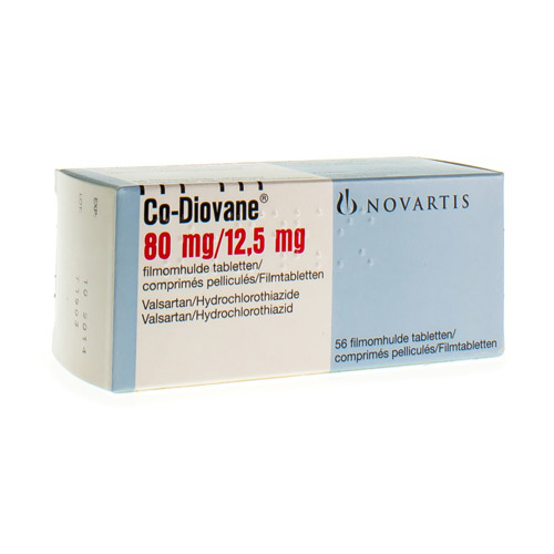 Co-Diovane 80 Mg / 12,5 Mg (56 Tabletten)