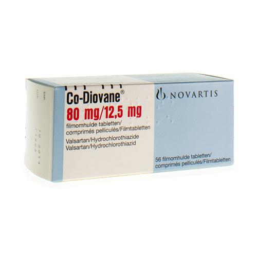 Co-Diovane 80 Mg / 12,5 Mg  56 Comprimes
