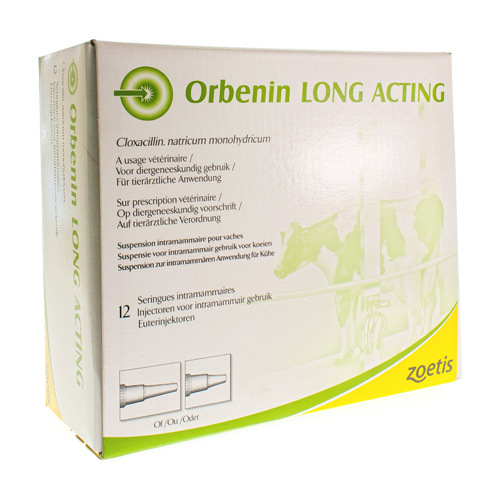 Orbenin Long Acting Veterinair (12 Injectoren)