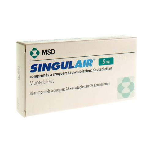 Singulair 5 Mg (28 Comprimes a Croquer)