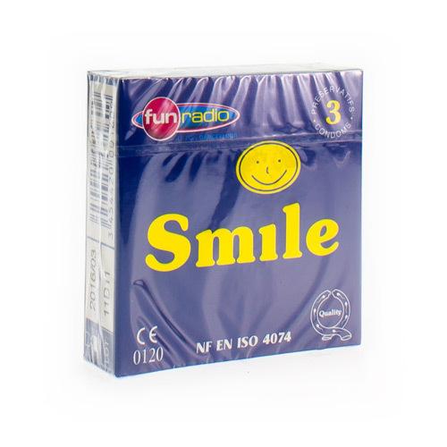 Smile Condom 3Pcs