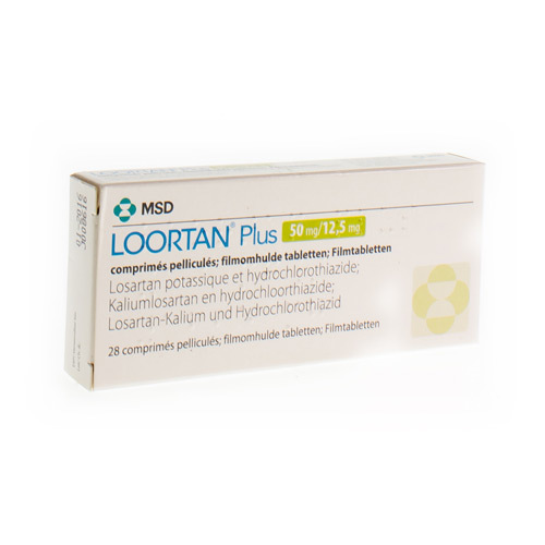 Loortan Plus 50 Mg / 12,5 Mg (28 Tabletten)