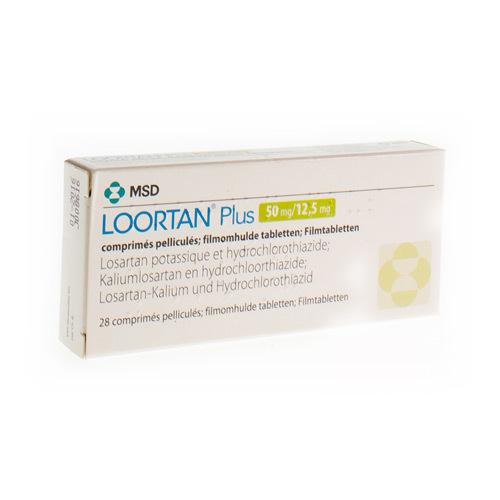 Loortan Plus 50 Mg / 12,5 Mg (28 Comprimes)