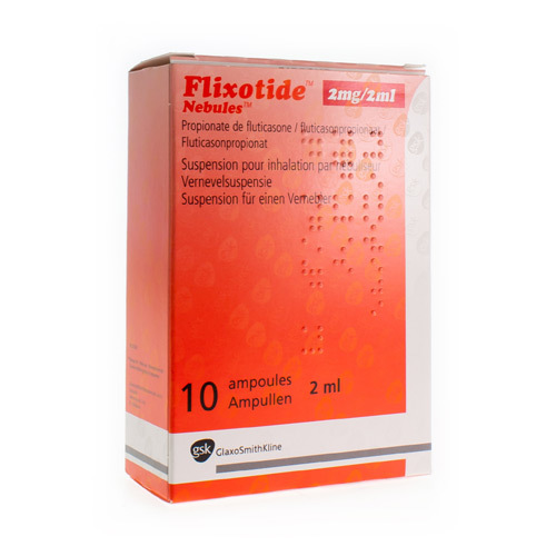 Flixotide-Nebules 2 Mg/2 Ml (10 Ampoules)