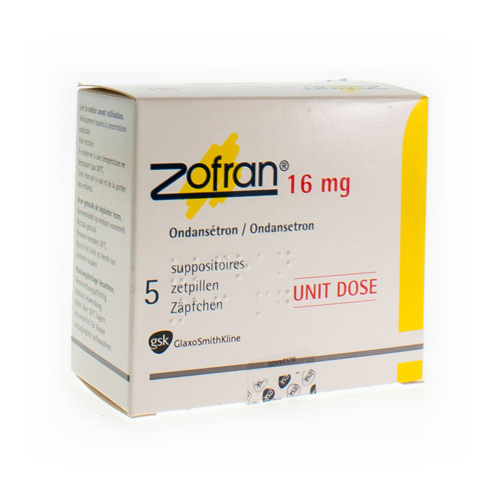 Zofran 16 Mg (5 Suppositoires)