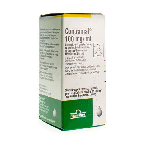 Contramal Druppels 100 Mg/Ml  50 Ml