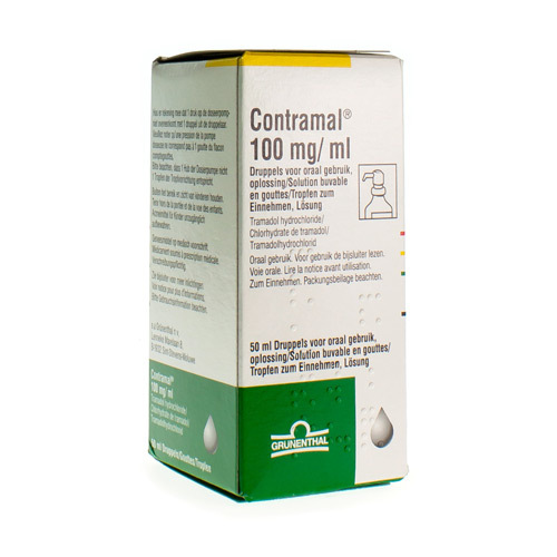 Contramal Gouttes 100 Mg/Ml  50 Ml
