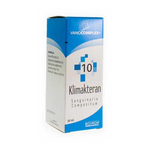 Vanocomplex No 10 Klimakteran 50Ml