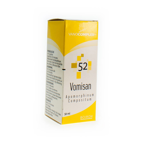 Vanocomplex Nr 52 Vomisan 50Ml
