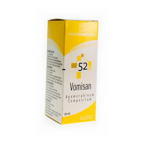 Vanocomplex No 52 Vomisan 50Ml