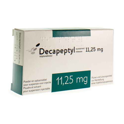 Decapeptyl Sustained Release 1125 Mg 1 Flacon Pharmacie Medibib
