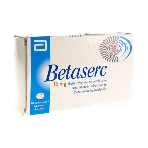 Betaserc 16 Mg  84 Comprimes