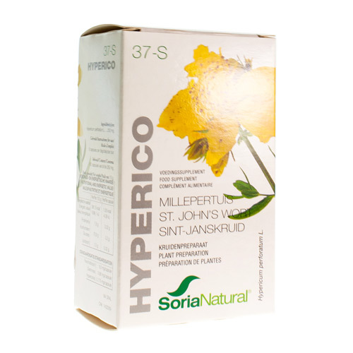 Soria Soricapsule Single N.37-S Hyperico (60 Capsules)