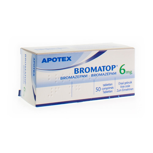 Bromatop 6 Mg  50 Comprimes