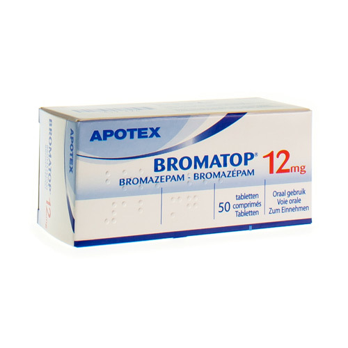 Bromatop 12 Mg  50 Comprimes