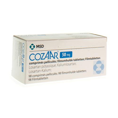 Cozaar 50 Mg  98 Tabletten