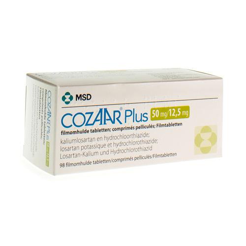 Cozaar Plus 50 Mg / 12,5 Mg  98 Comprimes