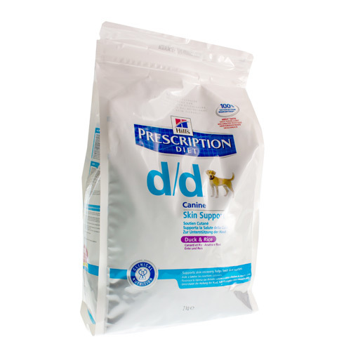 Hills Prescrip Diet Canne Dd Duck&Rice (2 Kg)