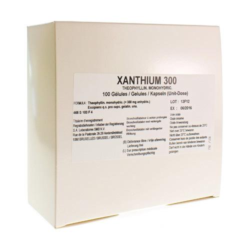 Xanthium Caps 100X300 mg Ud
