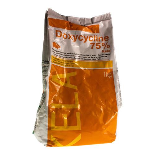 Doxycycline Veterinair 75%  1 Kg
