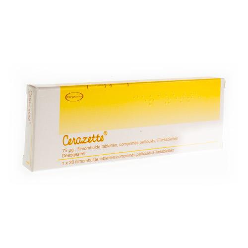 Cerazette 75 Mcg  1 X 28 Comprimes