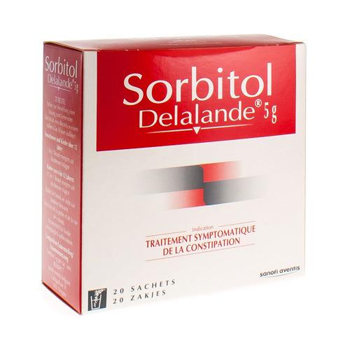 Sorbitol Delalande 5 G (20 Sachets)
